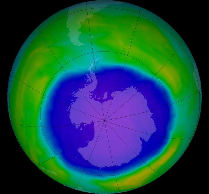 Ozone Layer Healing