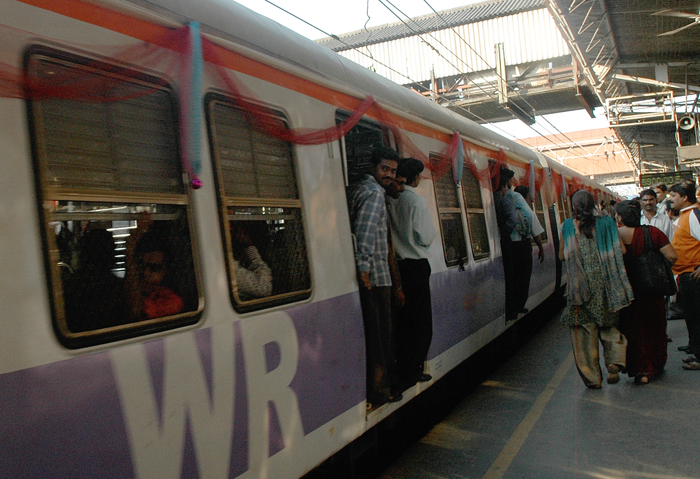 On Mumbai's Crime-Ridden Local Trains, Shaking Your Phone Will Send SOS To Cops