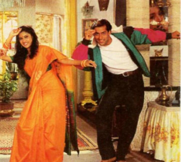 Salman Khan and Renuka Shahane