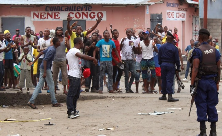 Kinshasa protest