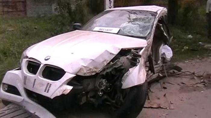 Speeding BMW Allegedly Driven By Rajasthan MLA