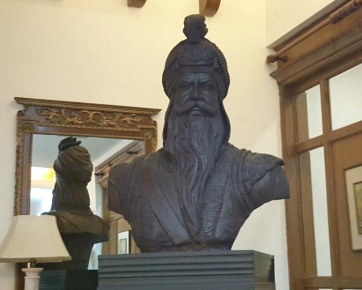 Bust of Maharaja Ranjit Singh