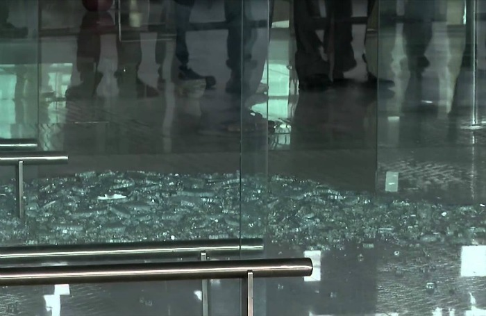 Chennai Airport Glass