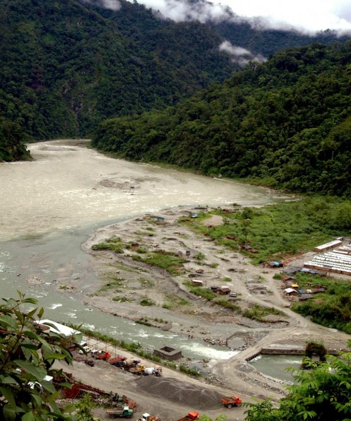 Teesta Dam - Sikkim