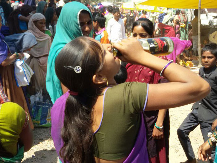 Tribals Discover Beer, Ready To Kill For A Swig Of It