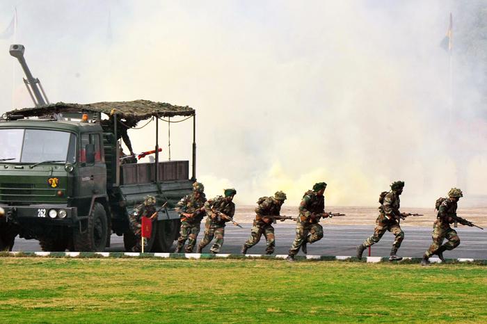 Army Must Use Guns