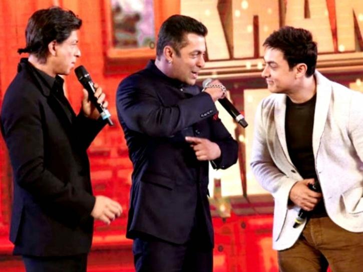 Aamir Khan, SRK and Salman