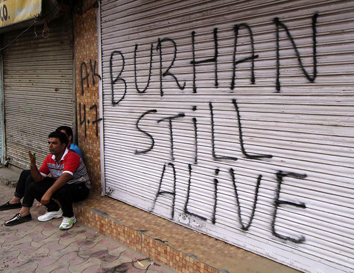 Protest in Kashmir