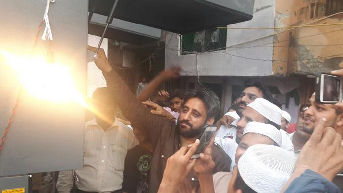 Aam Aadmi Party MLA Amanatullah Khan
