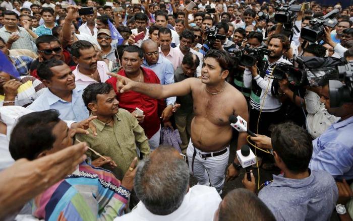 Gujarat Dalit Protest