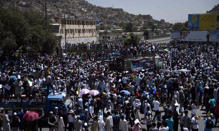 Twin Explosions Rip Through Afghan Capital Kabul