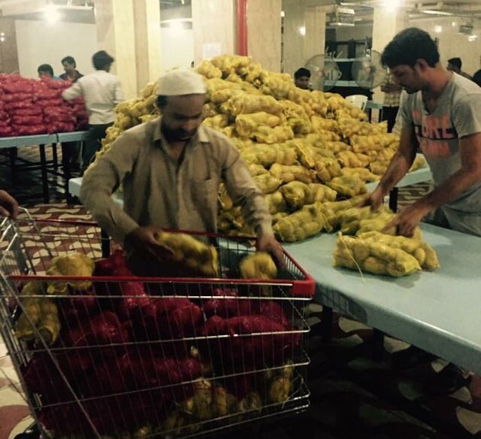 After Feeding 10,000 Starving Indian Workers In The Gulf