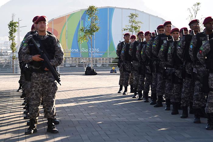 Olympics Security
