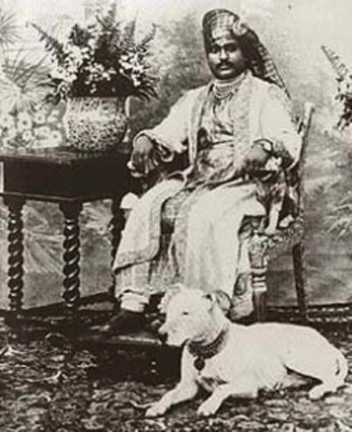 The Nawab of Junagadh - Mahabet Khan Rasul Khan