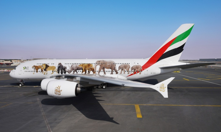 Painting Of Airbus A380
