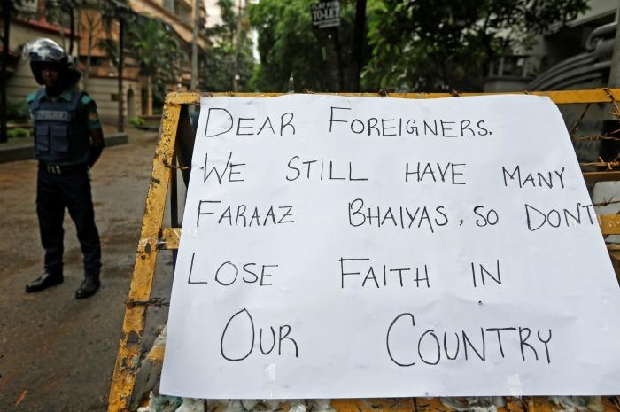 Faraz Hossain/Dhaka Attack