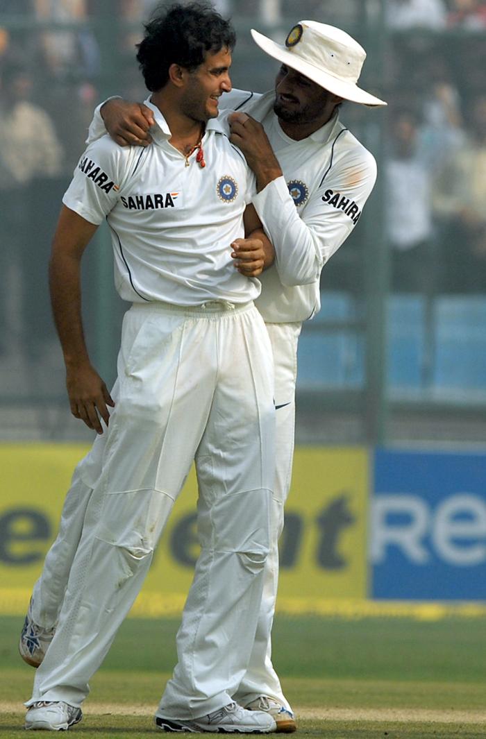 Ganguly and Bhajji