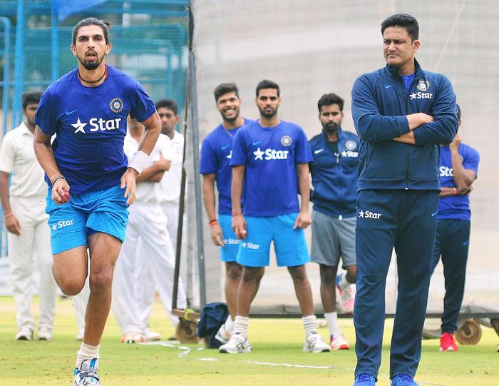 Ishant and Kumble