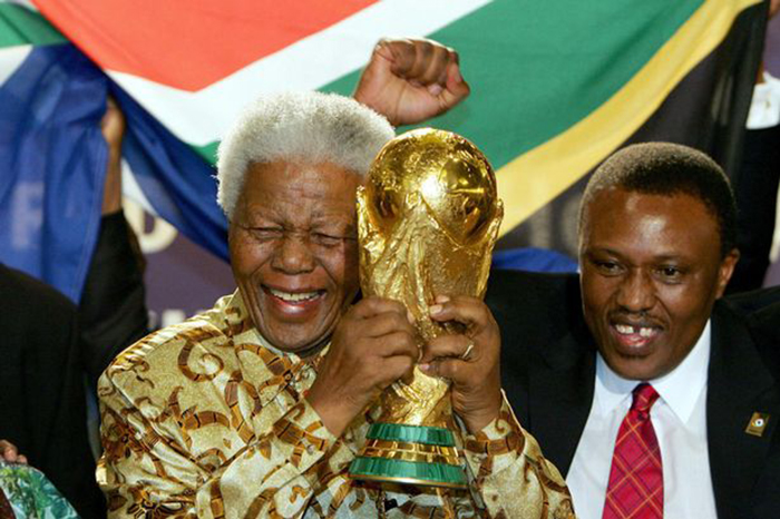 South Africa hosted the FIFA world cup in 2010
