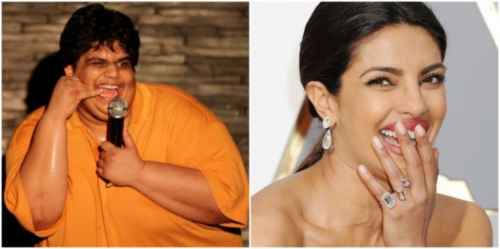 Tanmay Bhat and Priyanka Chopra