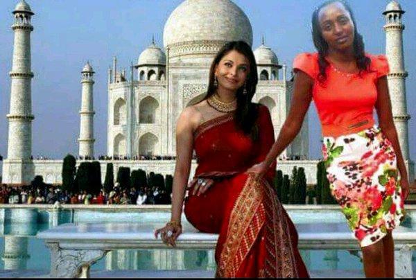 Kenyan Woman Photoshop Battle