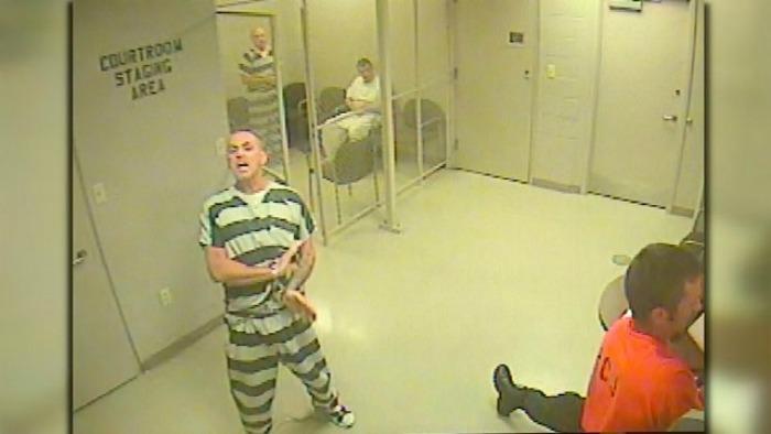 Inmates break free to save a jailer