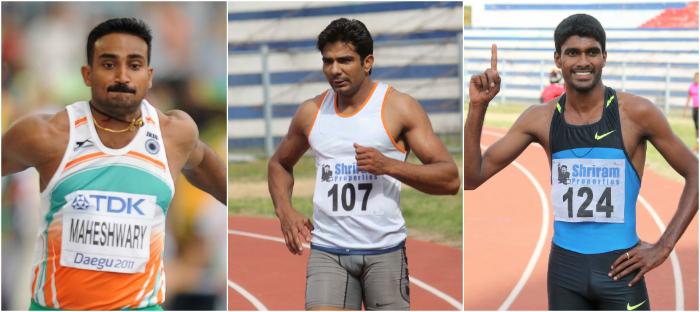 (Left to right) Renjith, Dharambir, Jinson
