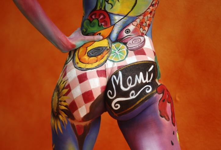 world body painting festival in Austria
