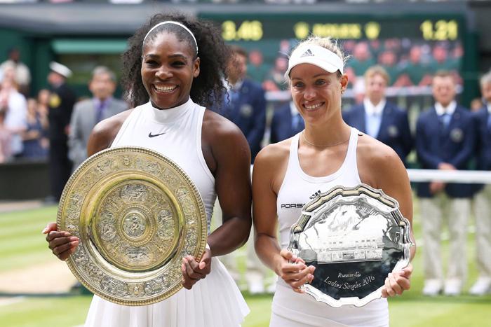 Serena and Kerber