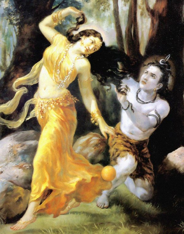 Lord shiva and mohini