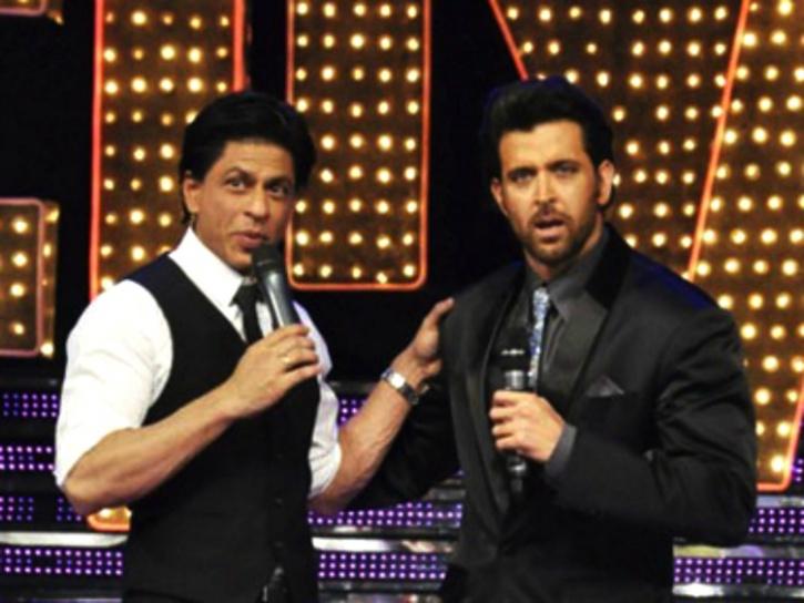 Shah Rukh Khan and Hrithik