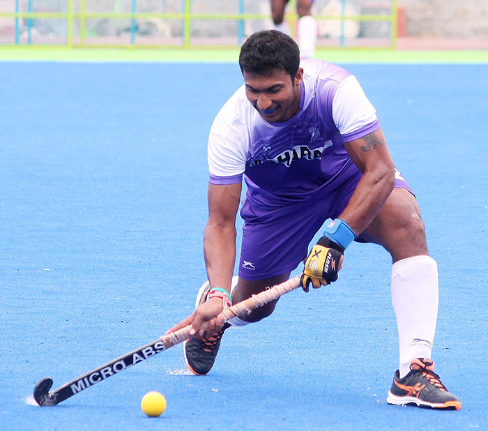 Indian Hockey Player