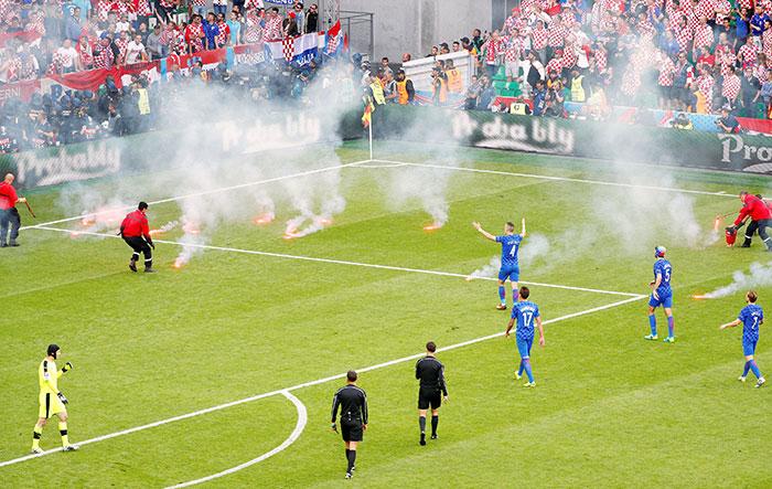 UEFA Starts Probe On Croatian Fans Branded