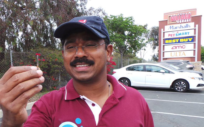 In The Last 2 Years, This Engineer Has Picked Up 37 KG Of Sharp Nails From Bengaluru Roads