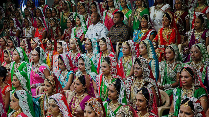 Proud dad of 472 happily married daughters