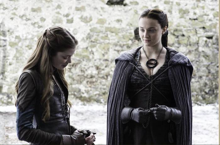 Evolution of Sansa Stark