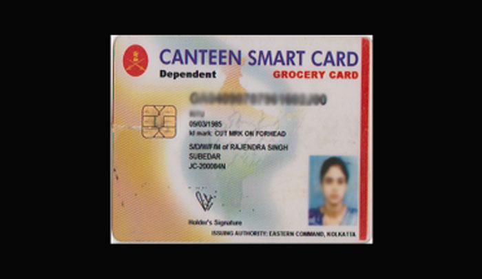 Canteen Smartcards