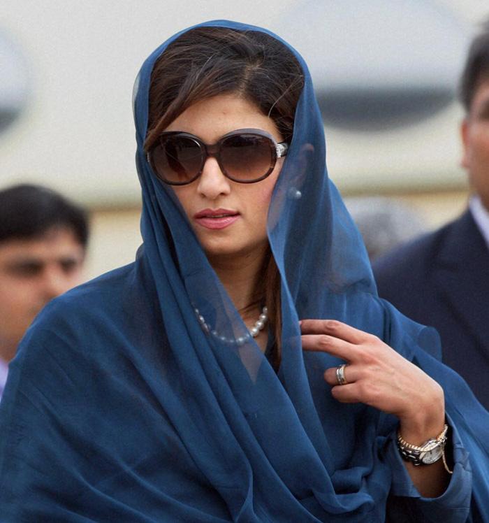 Pak foreign minister Hina Rabbani Khar