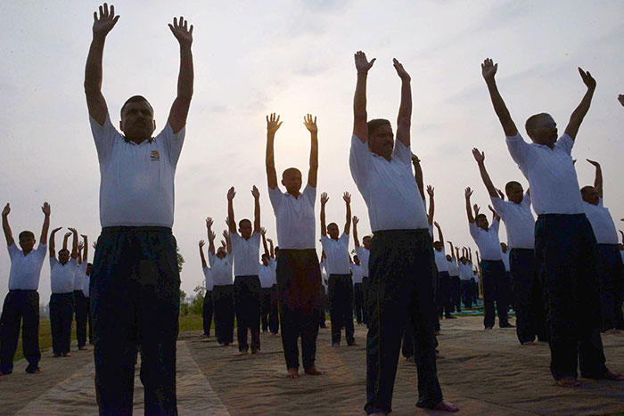 This Is How A Gujarat School Principal Used Yoga To Transform A Notorious Village