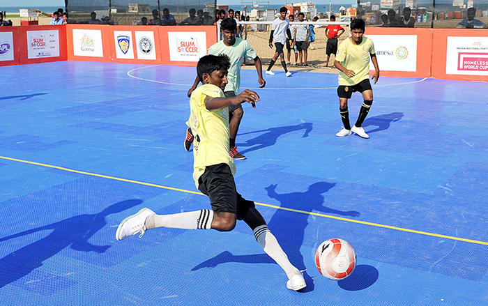 From Chennai Slum To Global Football Stadium