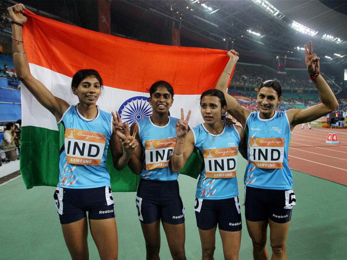 Indian 4x400m women