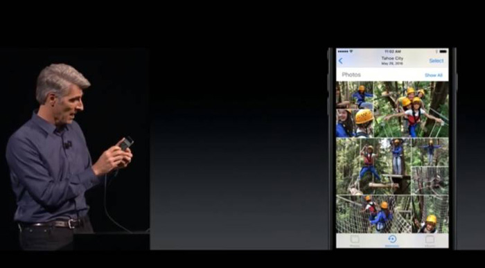 AI to sort content in Apple Photos