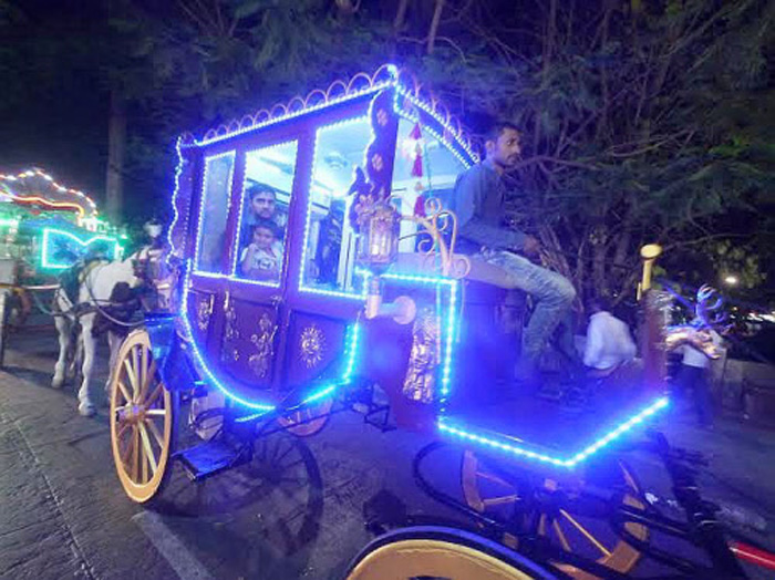AC horse carriage