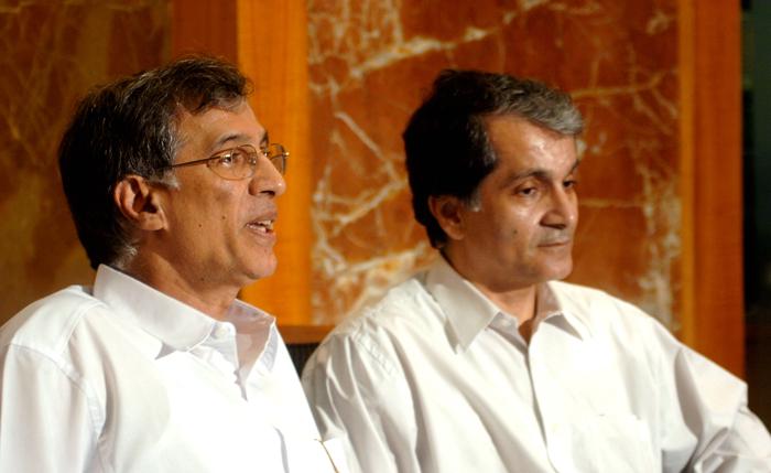 Niranjan and Surendra Hiranandani
