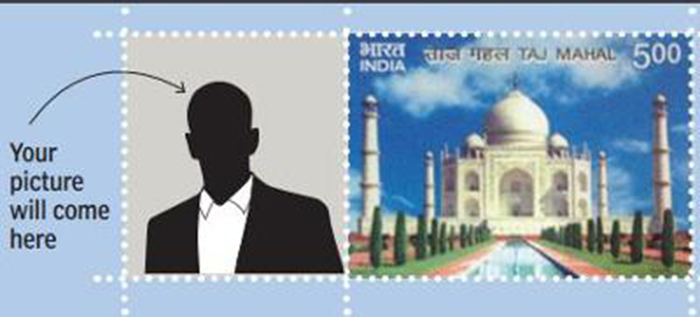 Now Get Yourself On A Postal Stamp At Rs 300