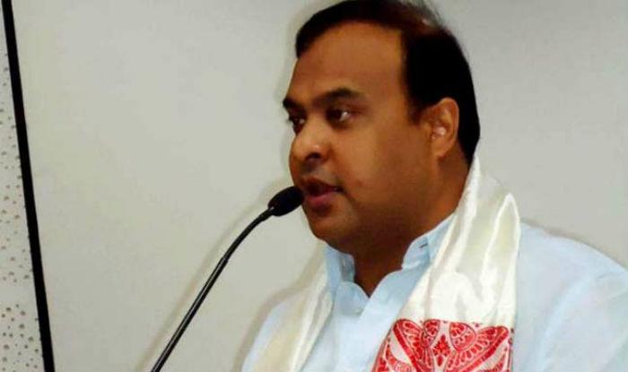 State health minister Himanta Biswa Sarma