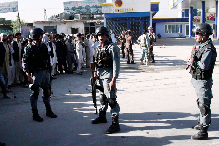 Taliban Suicide Bombers Kill Up To 40 In Hit On Cops
