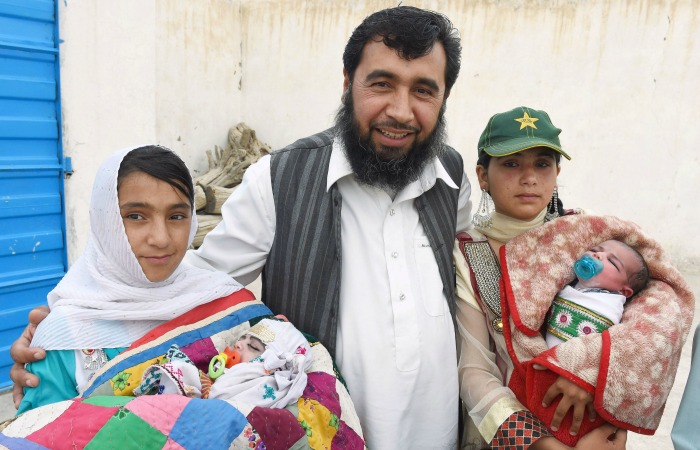 Already A Father Of 35, This Pak Man Aims For A 100 Children And Calls It His Religious Duty