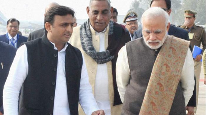 Modi and Akhilesh