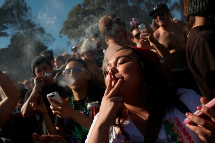 America drug protest
